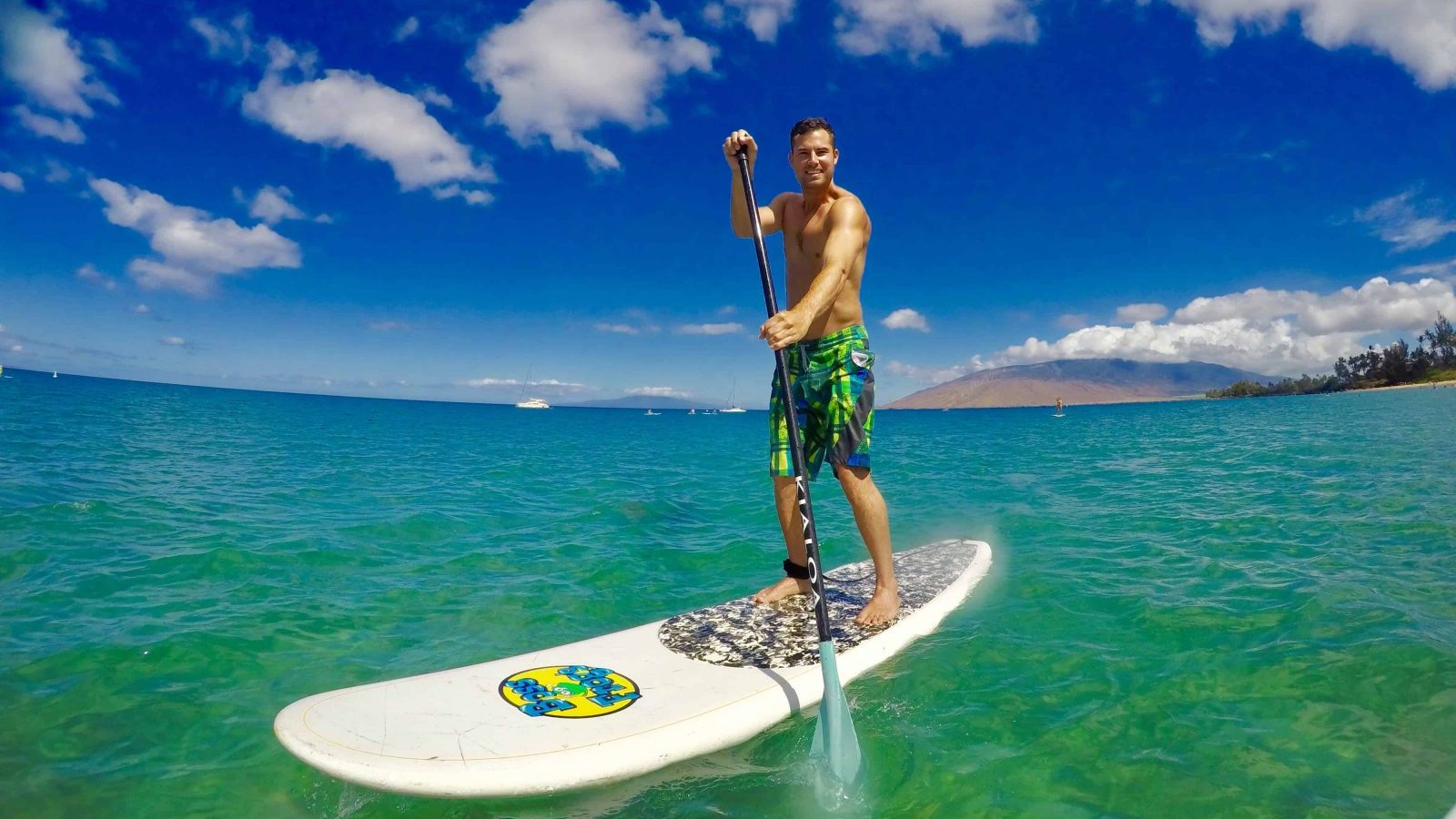 stand up paddle board hawaii million mile secrets