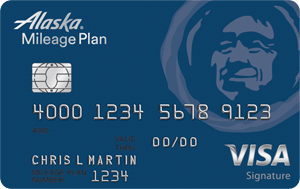 alaska airlines credit card