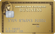 AMEX Business Gold Rewards Credit Card