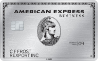 AMEX Business Platinum Credit Card