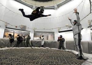 bucket list indoor skydiving