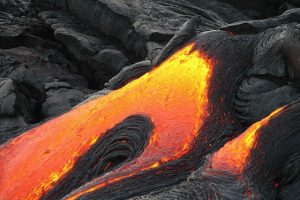 bucket list volcano lava