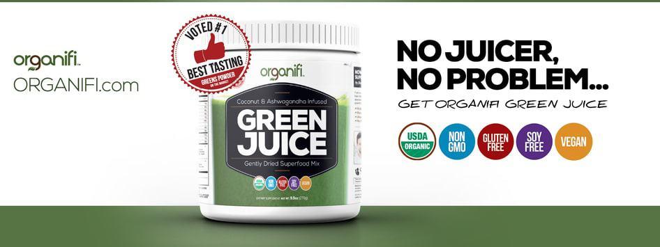 organifi banner green juice