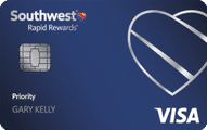southwest rapid rewards priority credit card