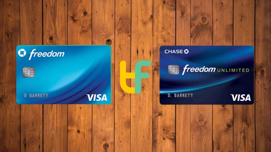 Chase Freedom vs Freedom Unlimited