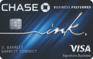 chase ink business preferred credit card art