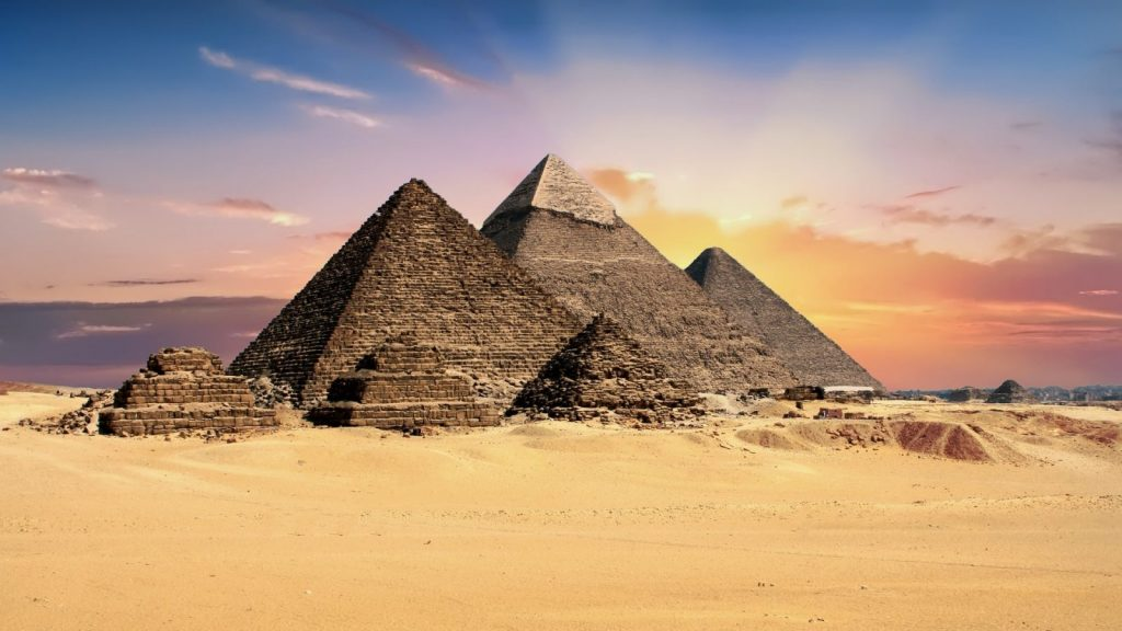 egyptian pyramids travel and leisure