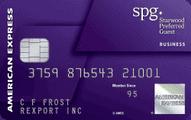 spg business card art marriott category 5