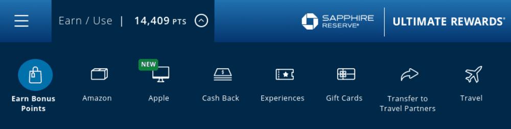 Chase Ultimate Rewards Shopping Portal