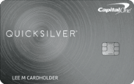 capital one quicksilver cash card