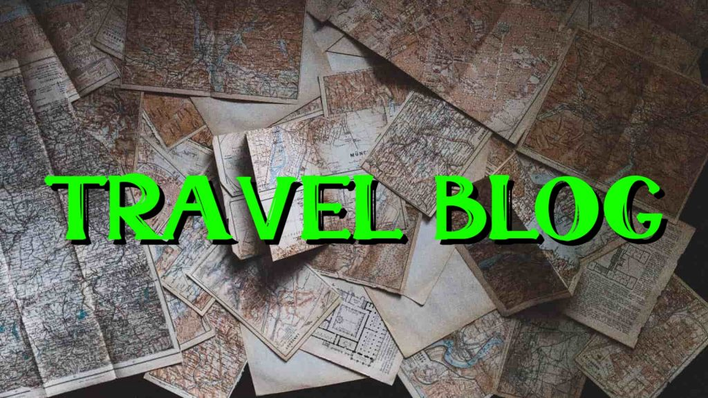 travel blog ideas