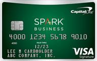 capital one spark cash for business card art
