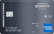 marriott bonvoy business card art