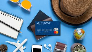 milestone credit card review