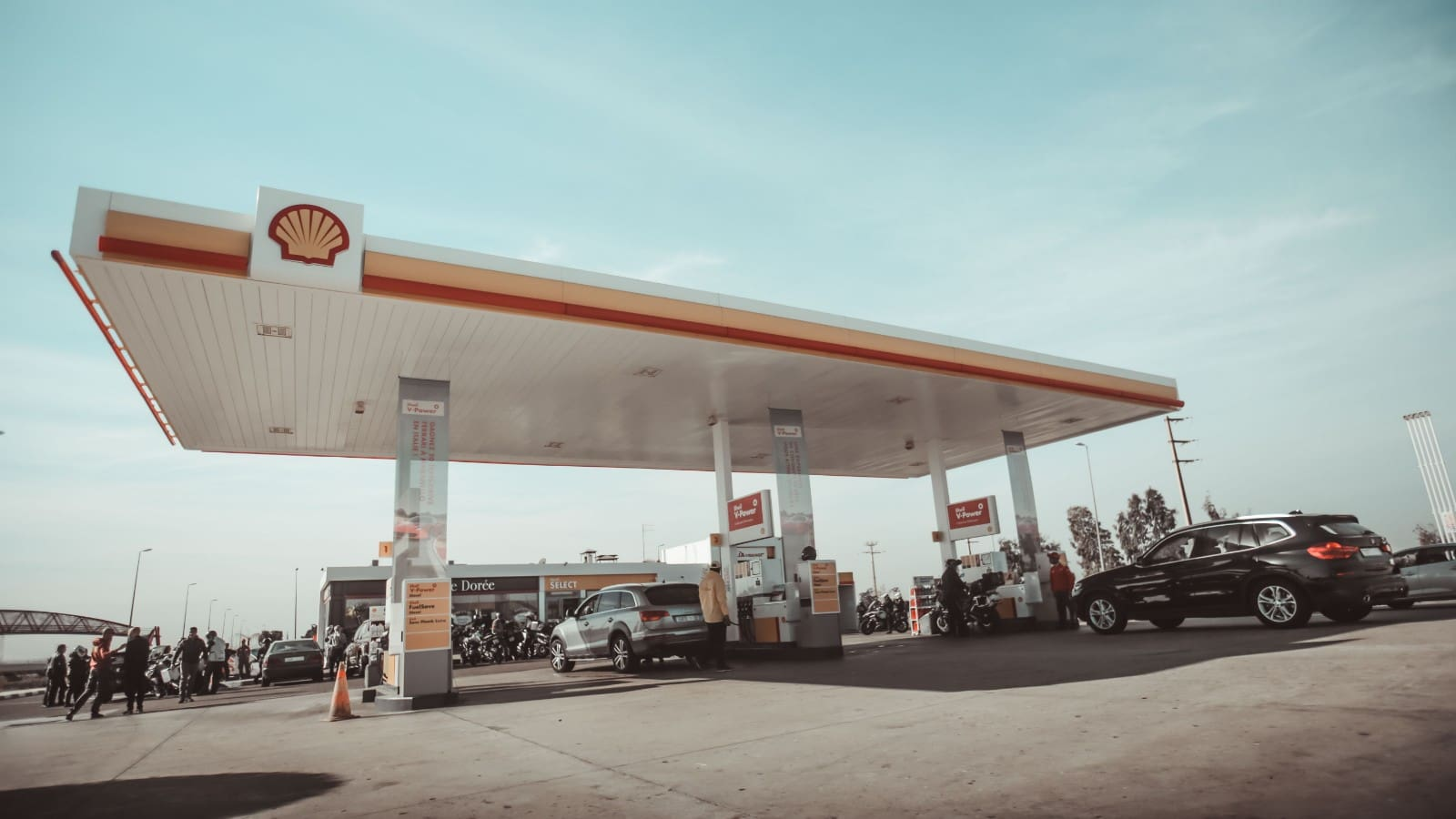 shell credit card gas