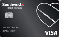southwest rapid rewards premier business card art