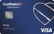 southwest rapid rewards priority card art