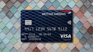british airways visa review