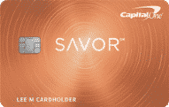 capital one savor cash rewards card art