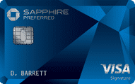 chase sapphire preferred credit card art