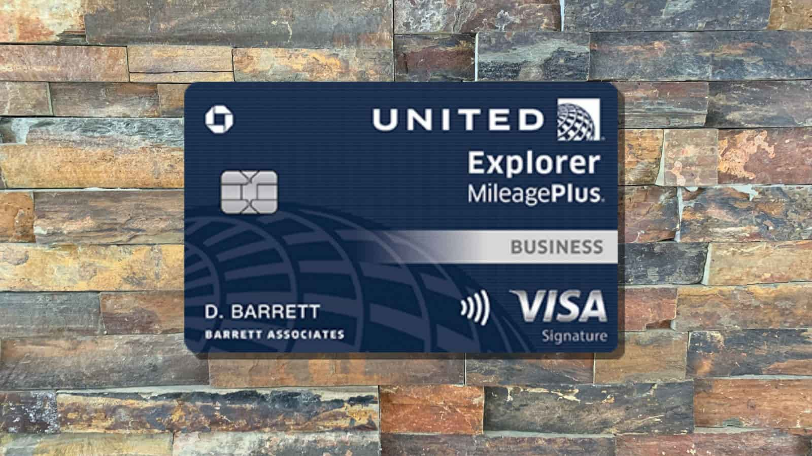 United Explorer Business Card Review: Made for United ...