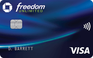 chase freedom unlimited card art new
