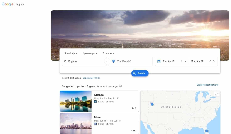 google flights best flight search engine