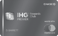 ihg rewards club premier credit card art