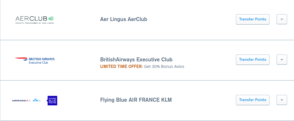 30 bonus chase ultimate rewards british airways avios