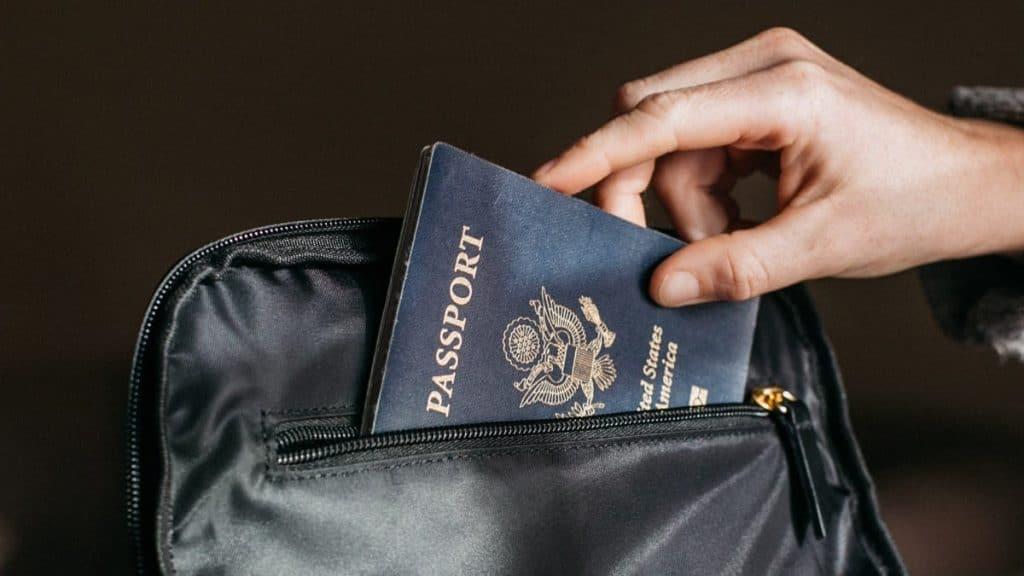 US passport application process