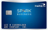 capital one spark business miles